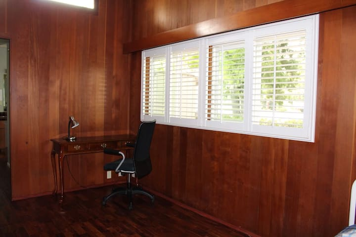 A separate apartment with bedroom and bathroom. - Palo Alto