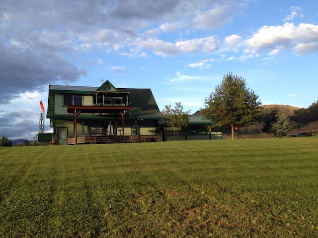 Private Suite w/Deck Overlooking the Methow River - Twisp - Daire
