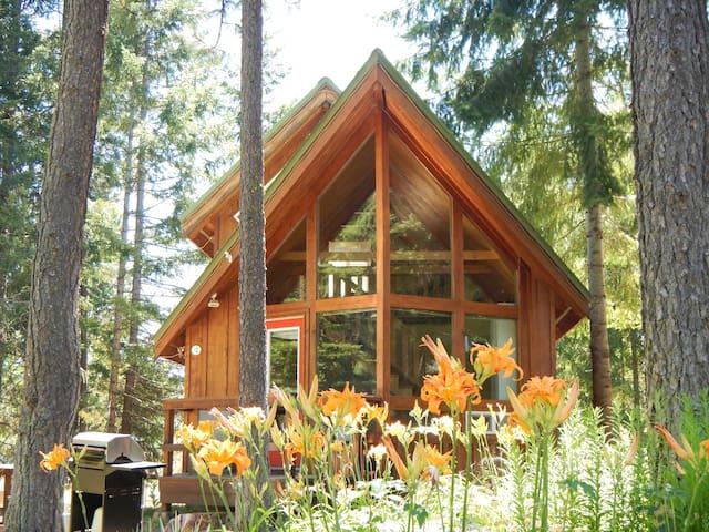 Cozy Cabins Near Majestic Mt. Adams - Trout Lake - Houten huisje