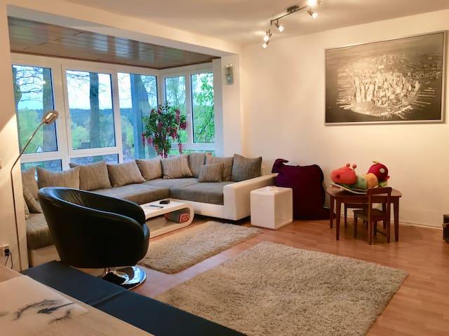 Large 3 bedroom apartment Schwabach near Nürnberg - Schwabach - Apartmen