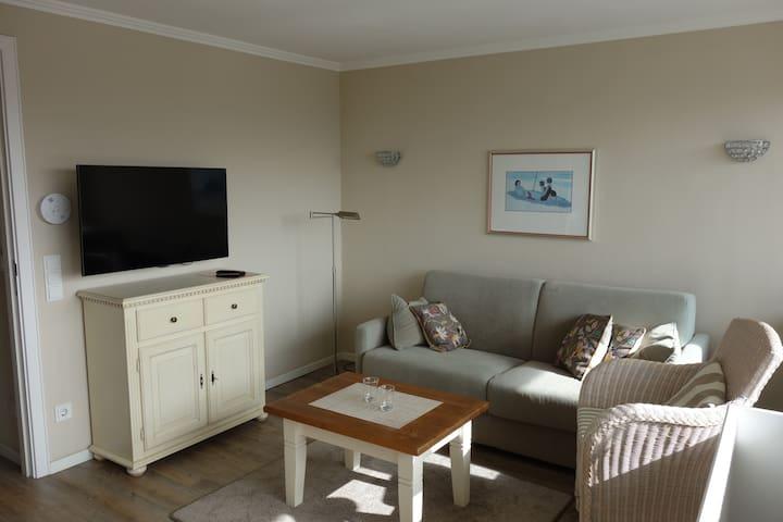 Gemuetliche Ferienwohnung strandnah - Вестерланд - Квартира