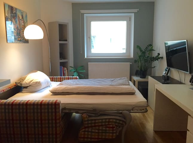 Cosy room in southern Munich for 2 - Munich - Leilighet