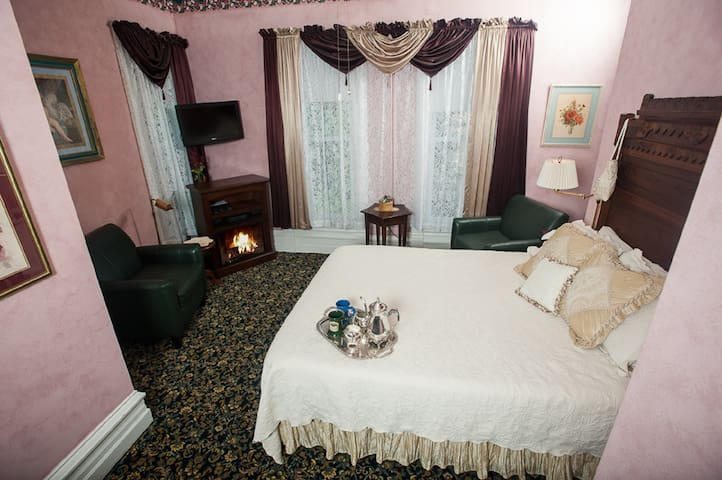 The Rose Room in my boutique hotel - Taylorville - Boutique-hotell