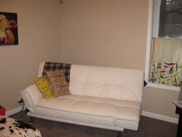 Clean, bright, and comfy home . - Carrollton - Hus