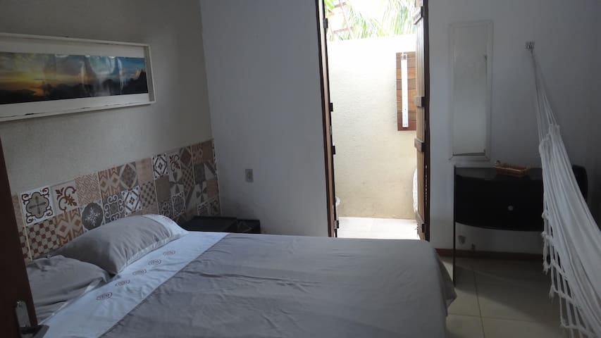 Chalet with AC and wi-fi 300 m from the sea - Tibau do sul