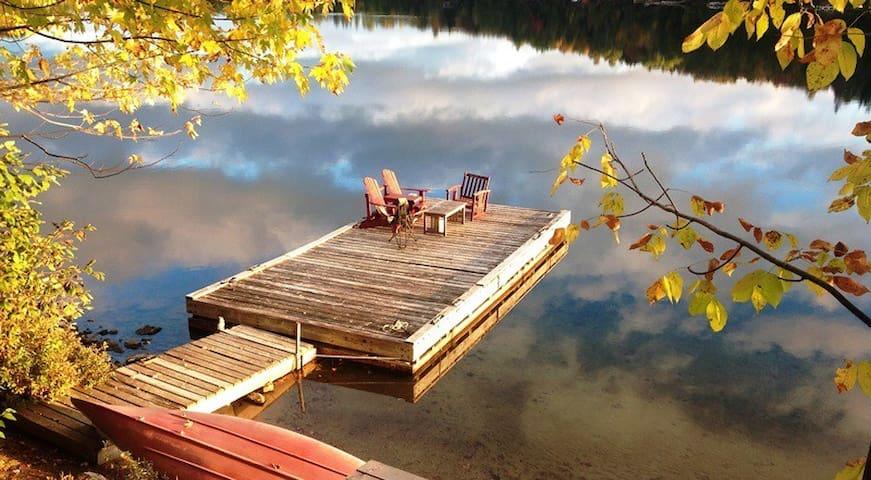 CASA MIA on Lake MacGregor - Val-des-Monts - Hus