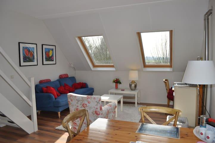 Spacious Sunny Loft ( 3p-64 m2) - Heinkenszand - Apartamento