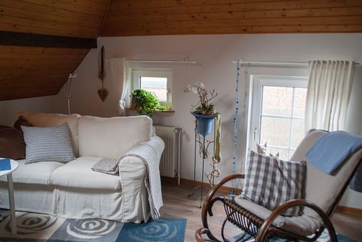 Schöne Ferienwohnung in Wiesmoor - Wiesmoor - Leilighet