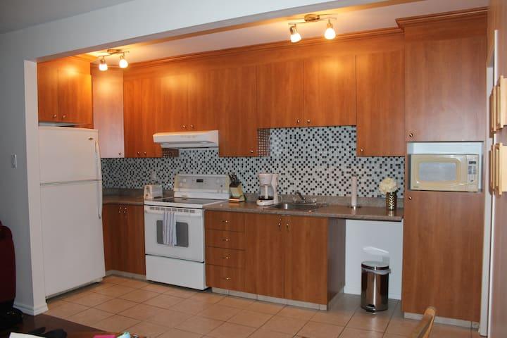 Appartement privée moderne à Arvida - Saguenay