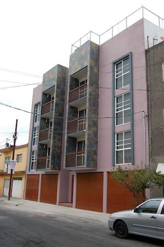DEPA NUEVO 1-6PERSON IDEAL AMIGOSPAREJAFAMILY CDMX - 墨西哥城(Ciudad de México) - 公寓