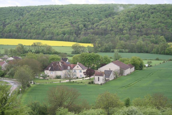 Sfeervol domein in de Champagne  - Rennepont - Bed & Breakfast