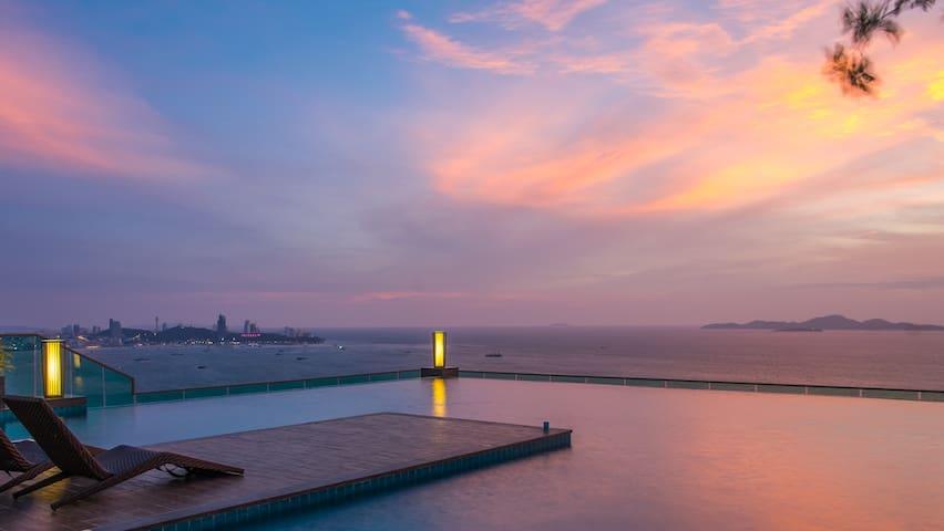 Beachfront condo Pattaya Naklua - Muang Pattaya