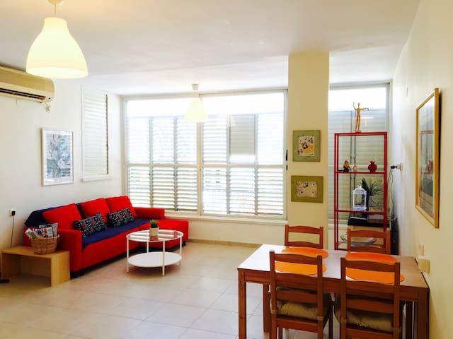 Central 2BR, Lighted & Spacious in Raanana - Ra'anana - Appartement
