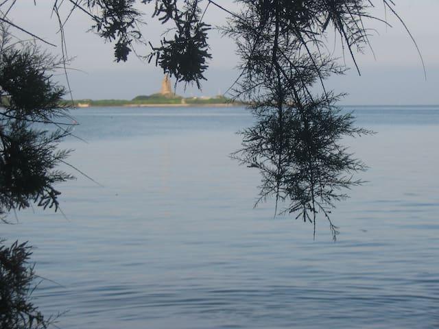Située face à Saint Vaast et au Fort de la Hougue - Morsalines - Maison