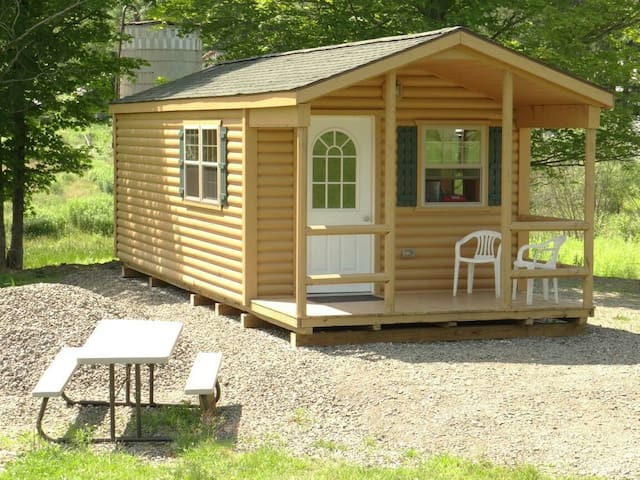 The Country Cabin - Ithaca - Zomerhuis/Cottage