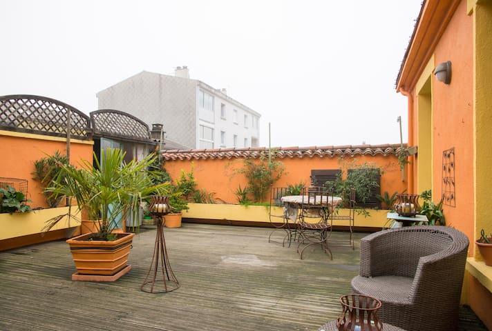 Chambre agréable en plein centre ville - La Roche-sur-Yon