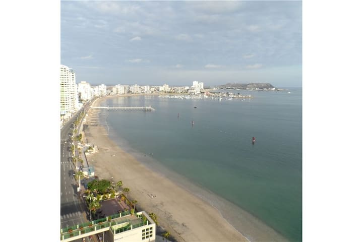 Studio apartment with ocean view - Salinas - Kondominium