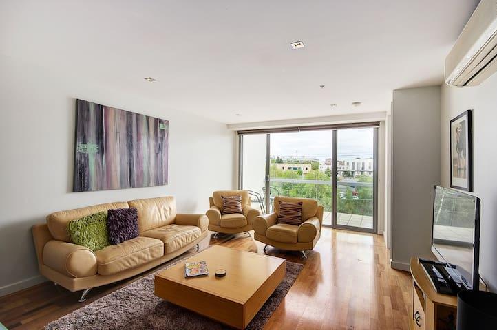 Top of Terminus Apartments - 2 bedroom 2 Bathrooms - Geelong - Apartamento