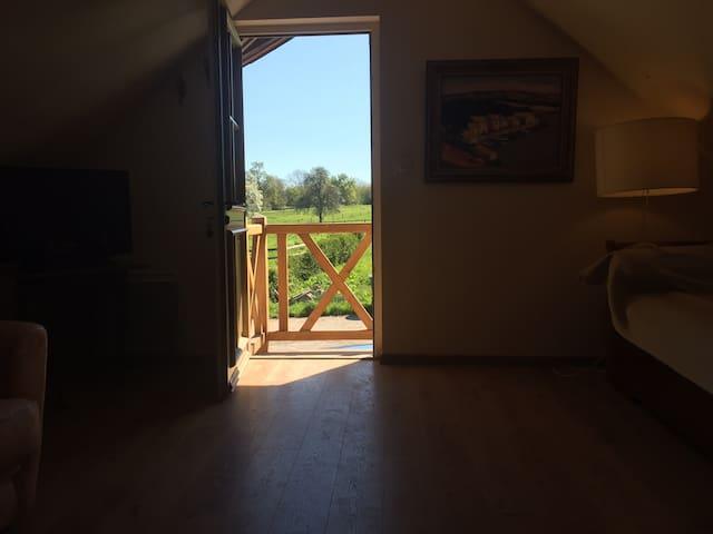 Appartement en pleine campagne à 7 km de Deauville - Beaumont-en-Auge - Daire