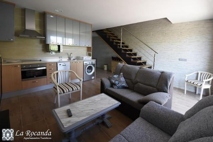 Apartamento La Rocanda A - Coca - Appartement