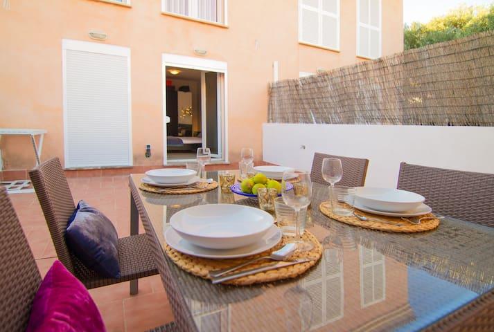 Wonderful beach house - Colonia de Sant Pere - Daire