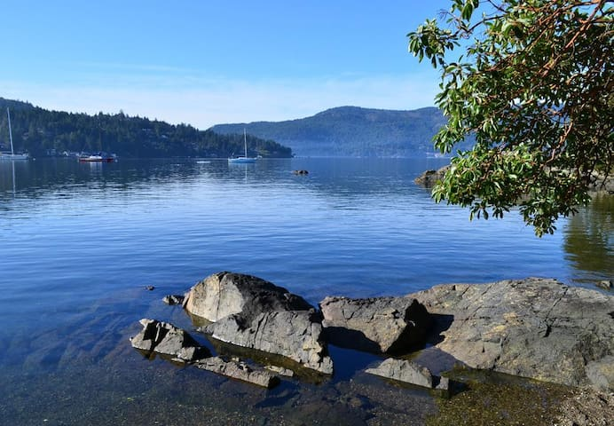 Steps to Ocean-Private suite in Brentwood Bay - Brentwood Bay