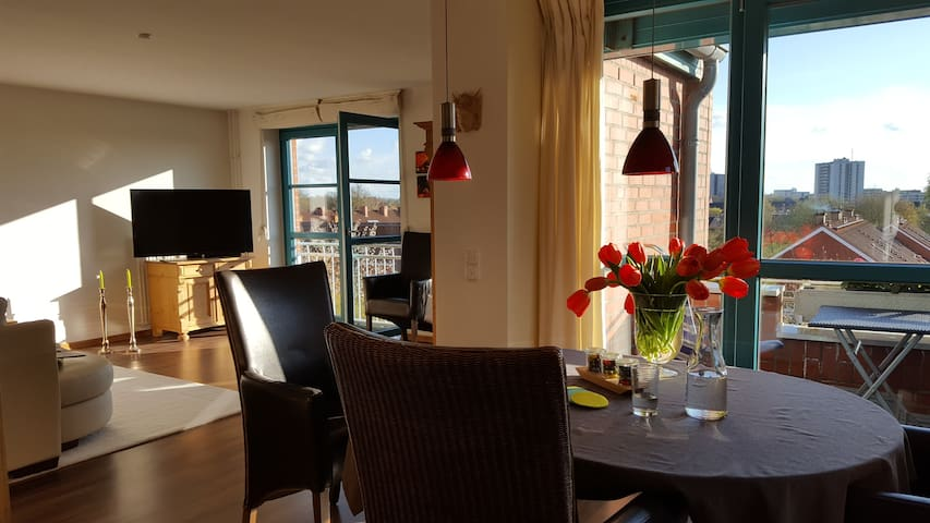 Ostsee schönes Wohn-Ambiente & Tiefgarage & Aufzug - Kiel - Apartamento