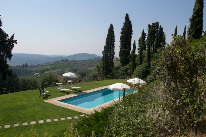 Ancient Barn in Chianti with Pool - Barberino Val d'Elsa - Hus