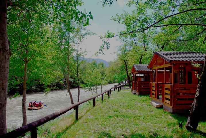 Camping Noguera Pallaresa - Sort - Bungalow