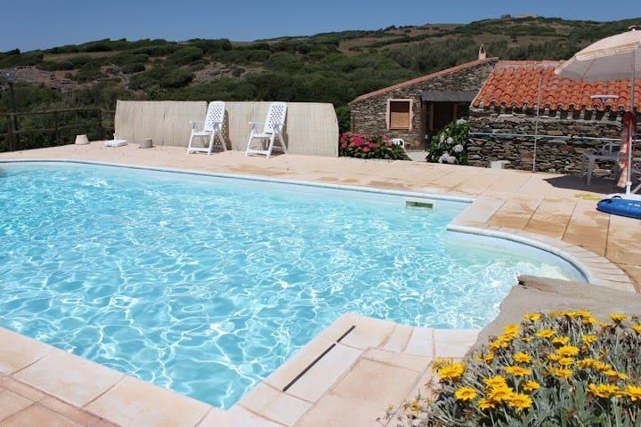 La Chintana C, villa romantica con piscina - Sassari