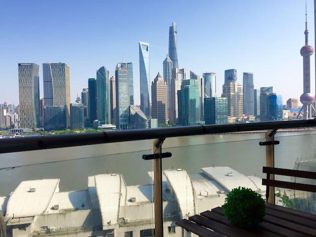 【Riva】全江景套房 俯瞰陆家嘴全景 130平摩登法式 - Shanghai - Appartement