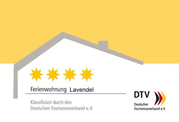 4 Sterne DTV Ferienwohnung Lavendel Brüggen - Brüggen - Daire
