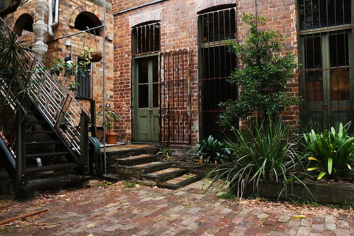 Urban retreat in heritage warehouse - Newtown - Pis