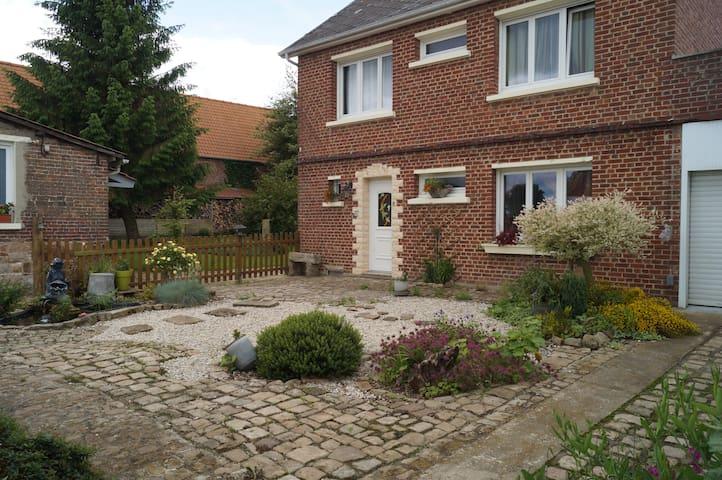 3 chambres à proximité d'Arras et de Lens - Camblain-l'Abbé - Apartamento