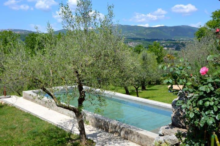 La Casetta  Aia Le Monache - garden, swimming pool - Aia Le Monache - Apartamento