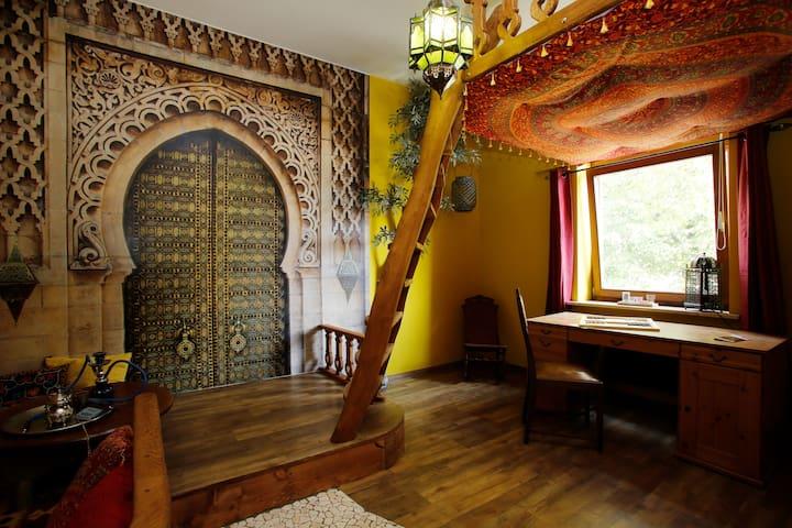 Stilvolle orientalische Wohnung - Ratzeburg - Departamento