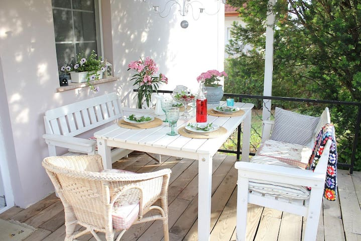 Apartment with garden and grill - Balatonfüred - Leilighet