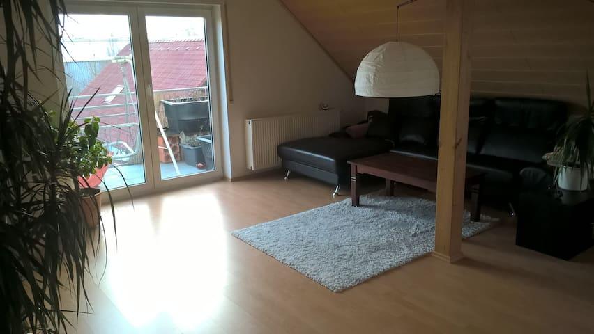 Skandinavisch eingerichteter Wohnungstil - Schwanau - Leilighet