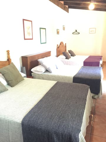 Habitación 6 plazas en Casa Rural Caminito del Rey - Campillos - Bed & Breakfast