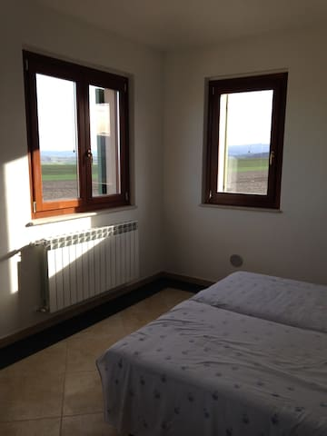 Room +(B.R) with panora 1Fl. in farmland & kitchen - Guglionesi - Appartement