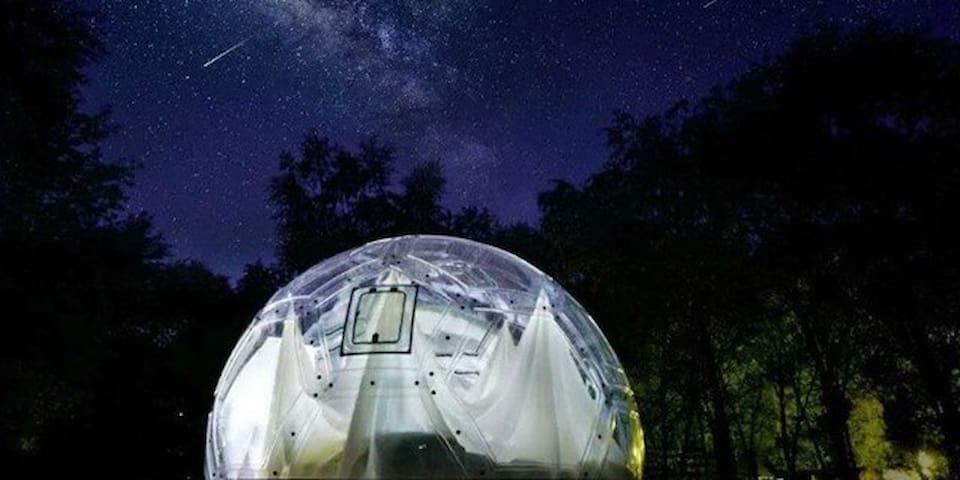 Galaxy house right beneath the Great Wall - Peking - Teltta