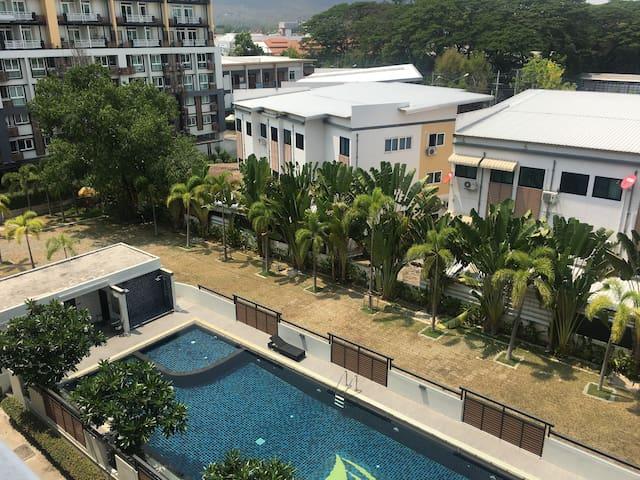 靠近清迈大学 宁曼路 距离机场20分钟 - Chiang Mai - Apartament