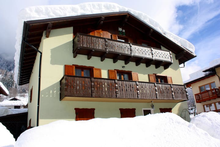CASA STELLE ALPINE - Cogolo - Apartment