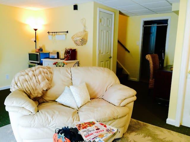 Cozy Comfy Suite - Glen Mills - Şehir evi