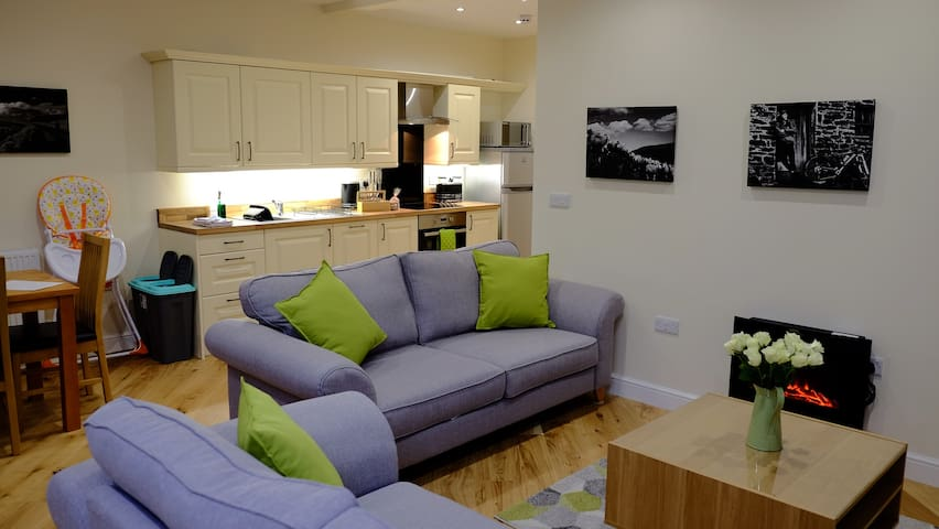 The Old Drapers Apartment - Rhayader - Daire