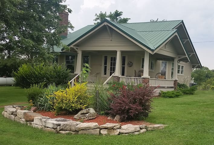 Terrapin Creek Ranch - Entire House Unmanned B&B - Rocheport - Rumah