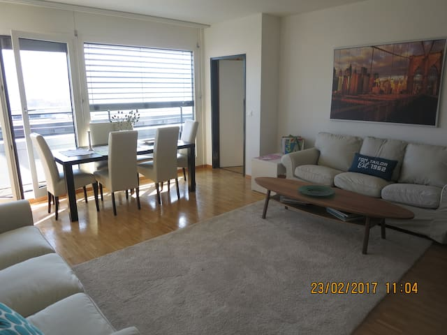 CENTRAL, light, modern apartment, nice views - Zug - Apartmen