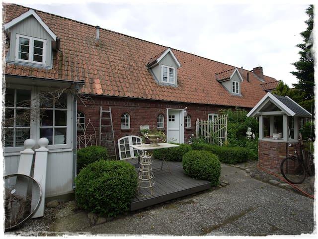 lille weiß feriehus - Drelsdorf - Wohnung