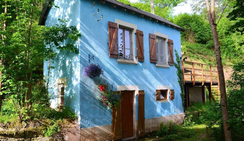 La Petite Maison Bleue - Les Ancizes-Comps - Casa