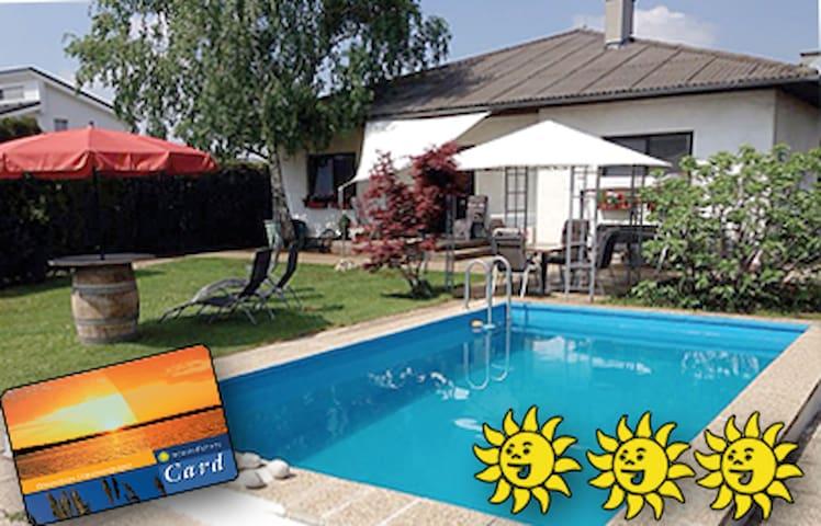 3 Sonnen Ferienwohnung - Haus Gerlinde - Mönchhof - Leilighet